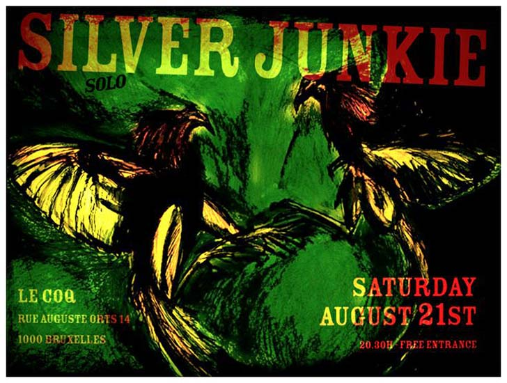 Poster Silver Junkie