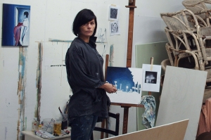 Working in my Atelier - Kathleen Steegmans
