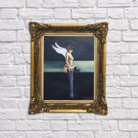 Oil painting - wings