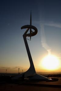 Barcelona Sunset - Torre Calatrava