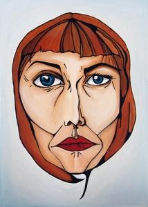 Jane - Acrylic on Canvas, 100 x 140 cm