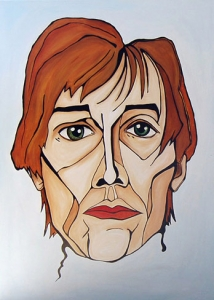 John - Acrylic on Canvas, Kathleen Steegmans