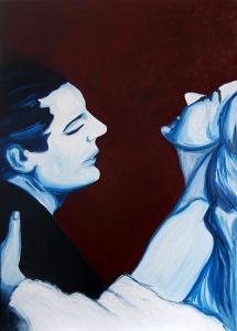 La Dolce Vita, Oil on Canvas, 50 x 70 cm