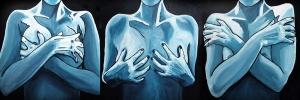 My Body And Me, Acrylic on Canvas, Kathleen Steegmans