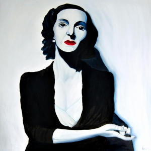 The Mistress - Oil on Mdf - Kathleen Steegmans
