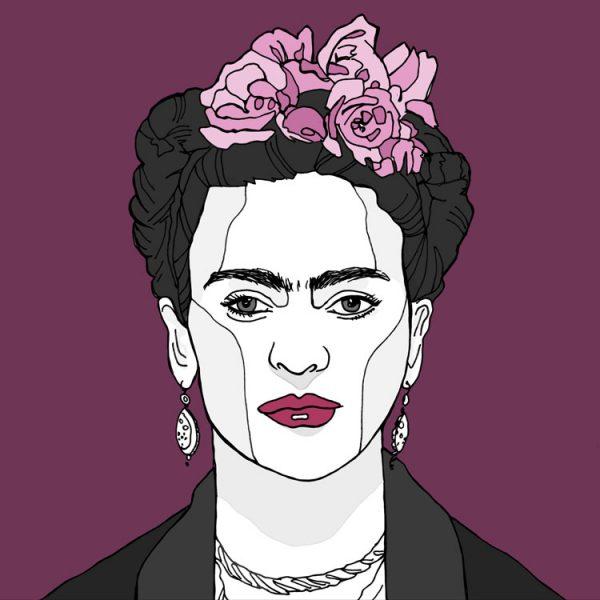 70 - Frida Kahlo illustratie