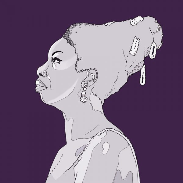 Nina Simone - wall art