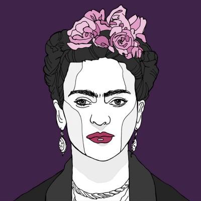 Frida Kahlo wall art print