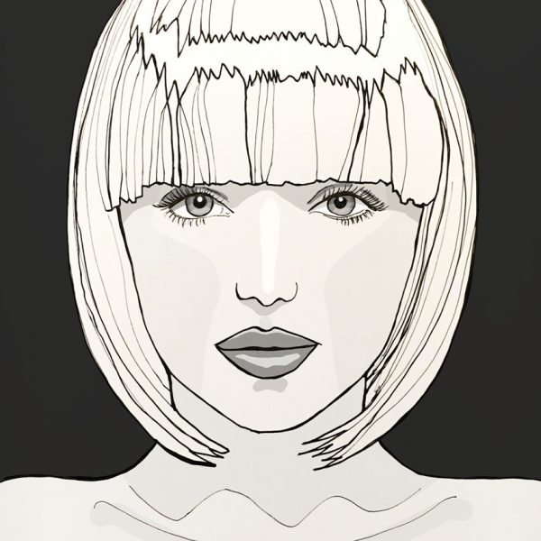 Mia illustration art for your home