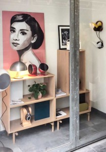 Audrey in the Home.made.stories showroom
