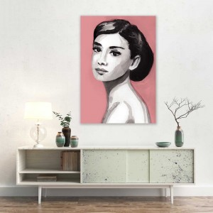 Audrey Hepburn art print for sale