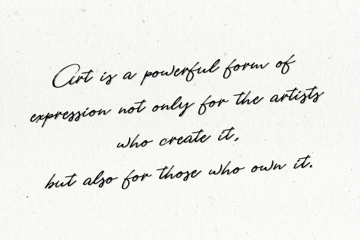 Art Is Expression quote