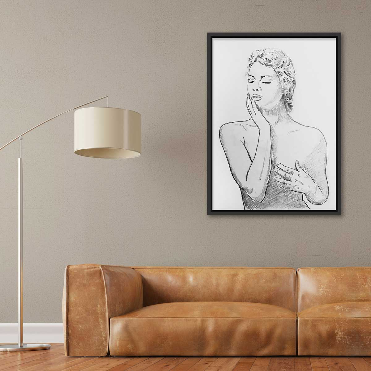 Forex art print - framed