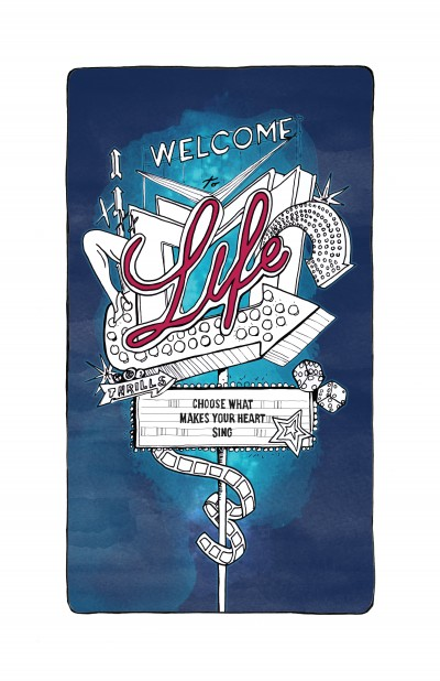 Book Illustration Welcome to Life