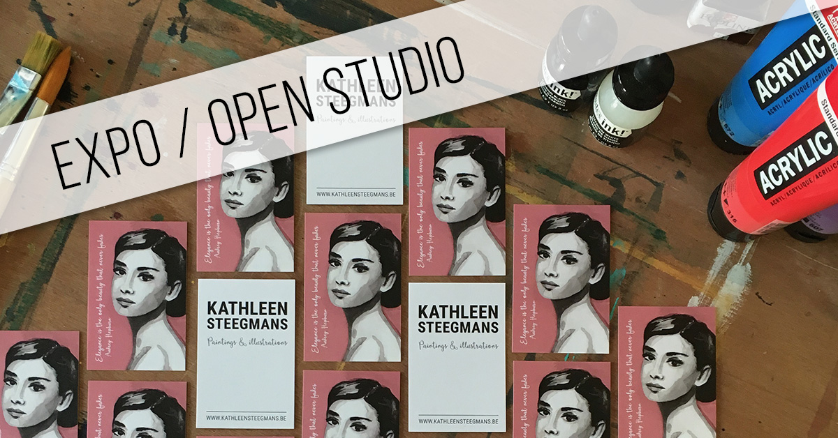 Expo - open studio 20, 21, 22 oktober 2017