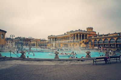 The baths Budapest