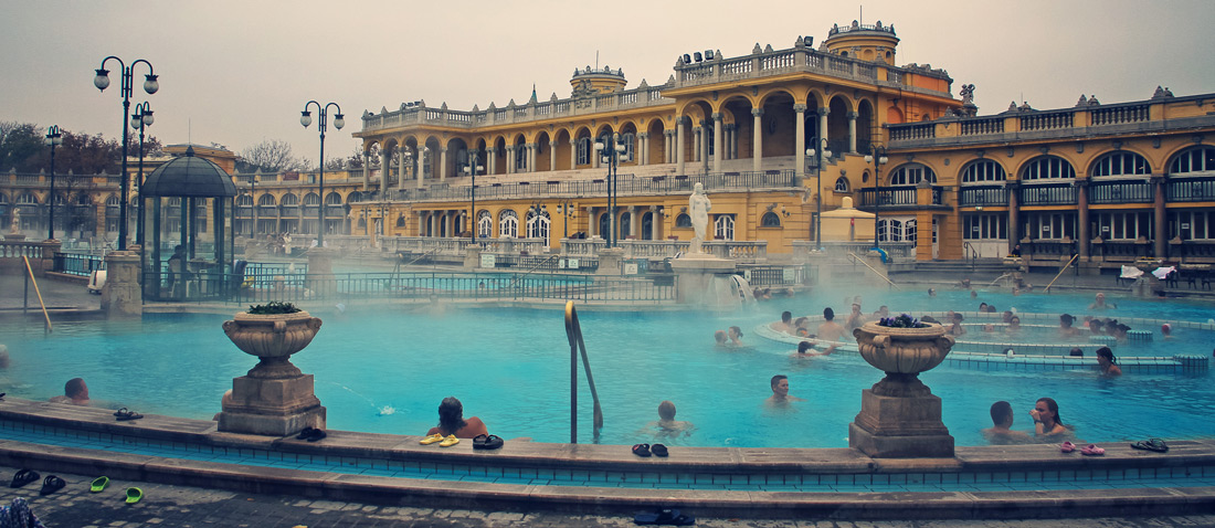 Budapest - city of baths