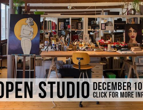 Open Studio > December 10th!