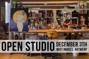 Open studio - 3 december 2017