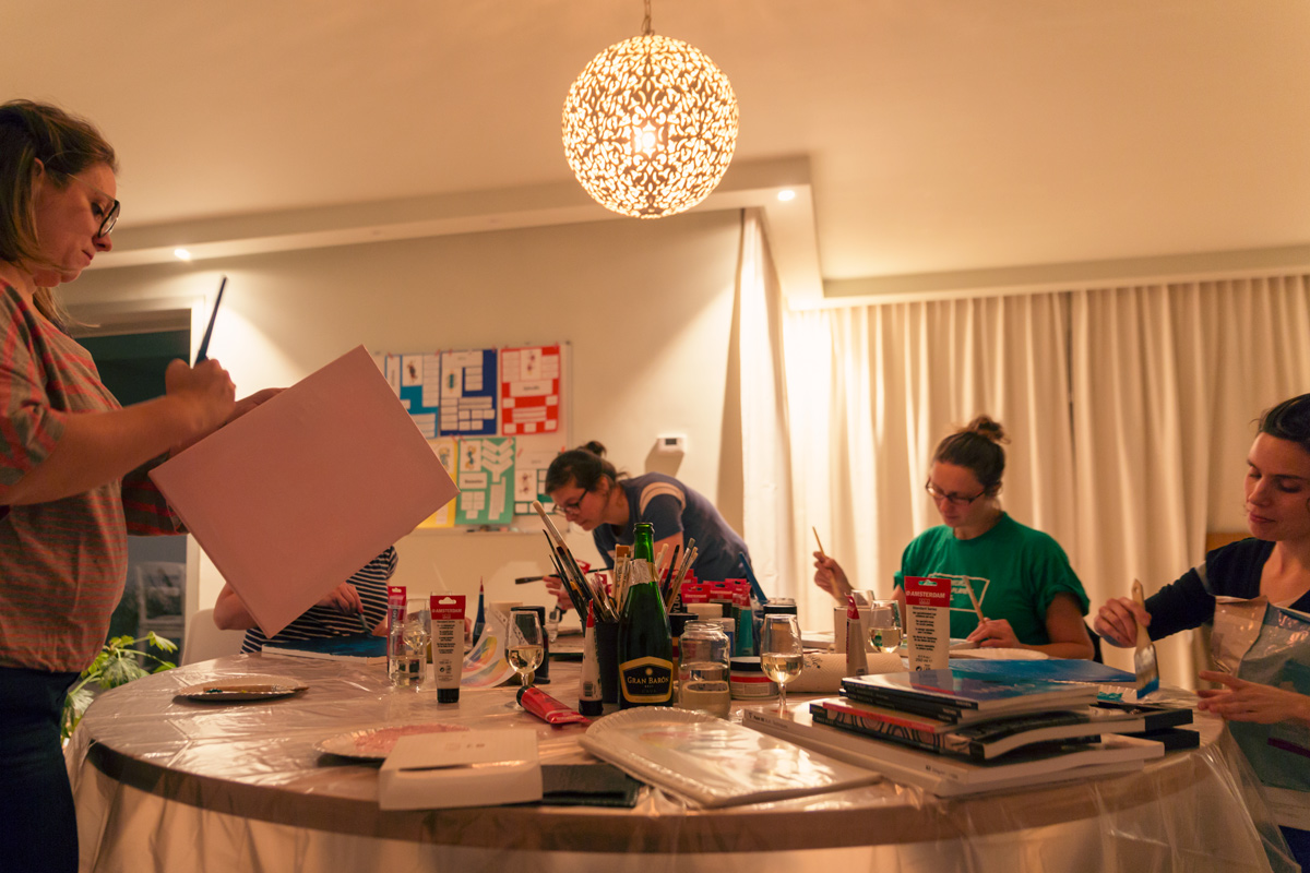 Workshop schilderen antwerpen