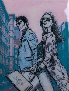 Mister & Misses Smith - Figurative Resin Art