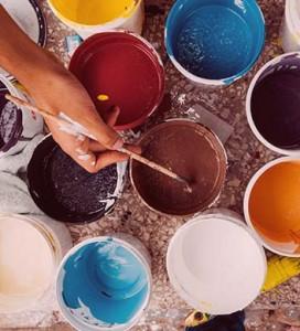 Acryl verf schilderen
