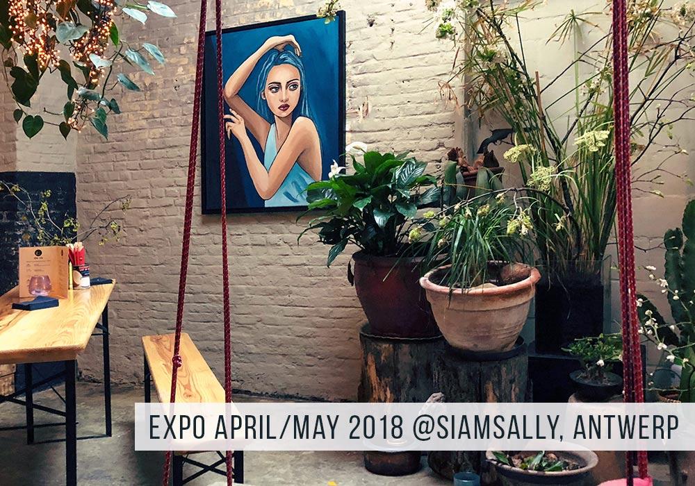 Tentoonstelling Antwerpen April / Mei 2018