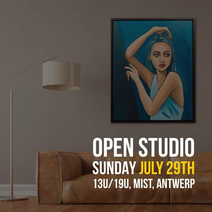 Open Studio - 29 Juli, Antwerpen
