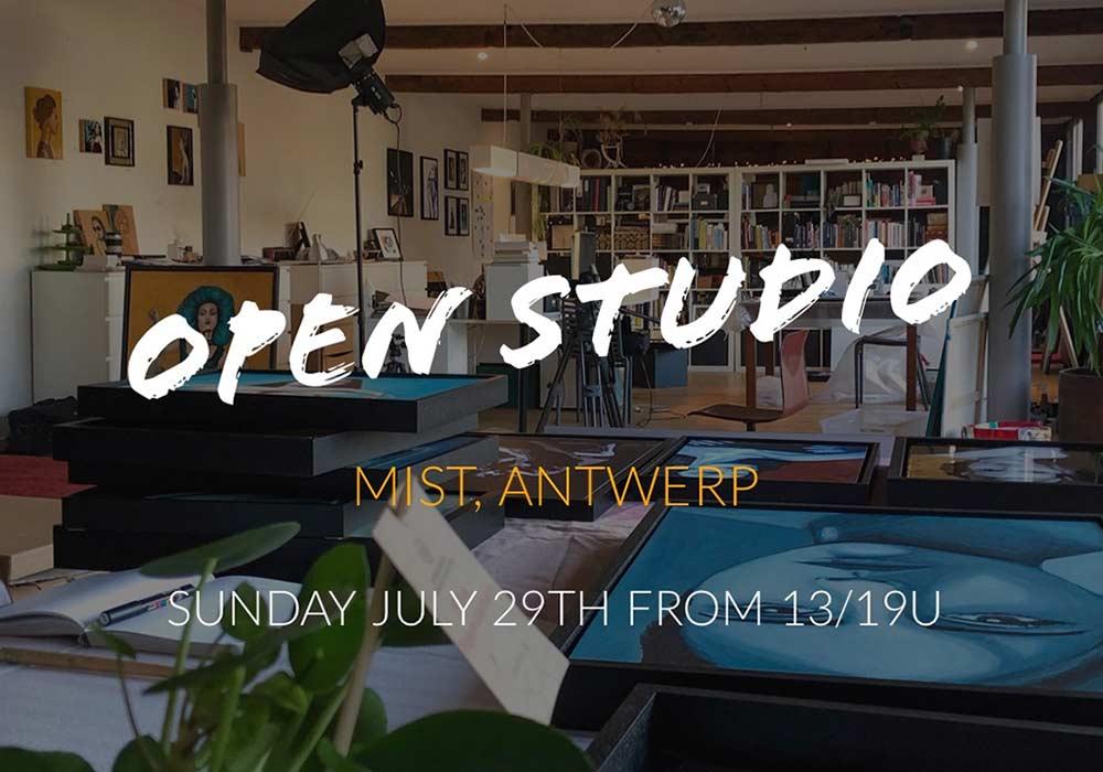 Bezoek mijn open atelier op 29 Juli 2018