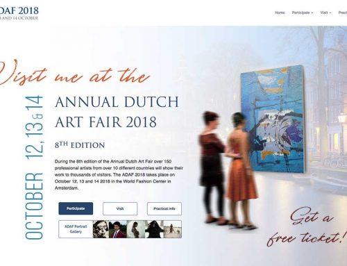 Visit me at The Annual Dutch Art Fair 2018
