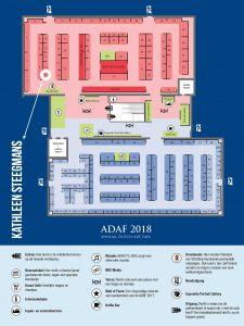 ADAF plattegrond