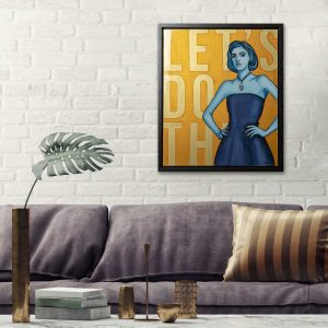 MixedMedia Art in an interior