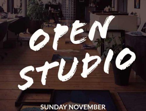 Open Studio November 4th