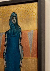 Detail Waiting For Godot - Resin Art
