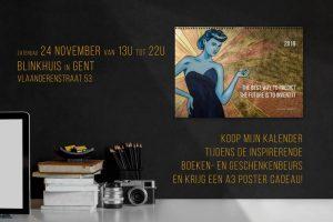 Inspirerende boeken- en geschenkenbeurs Gent