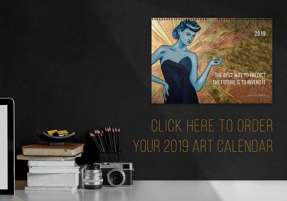 Order your 2019 Art Calendar