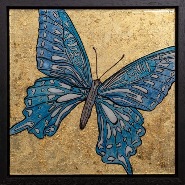Butterfly Love - Mixed Media Art