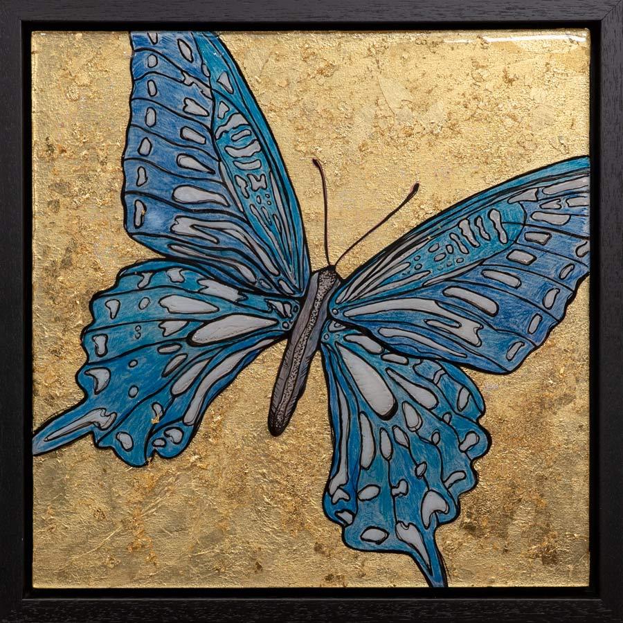 Butterfly Love - Mixed Media Art