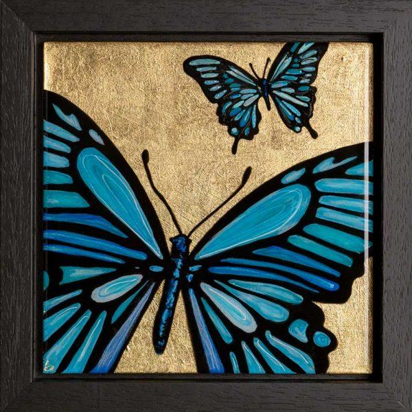 Epoxy Butterfly Art