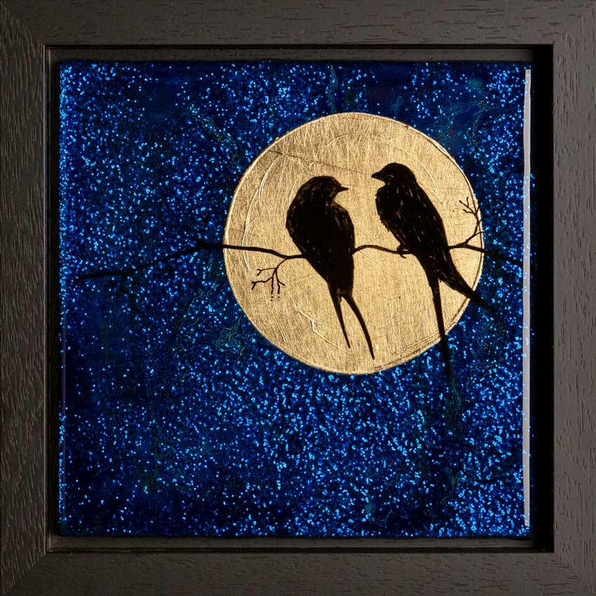 Figurative Resin Art - The Birds
