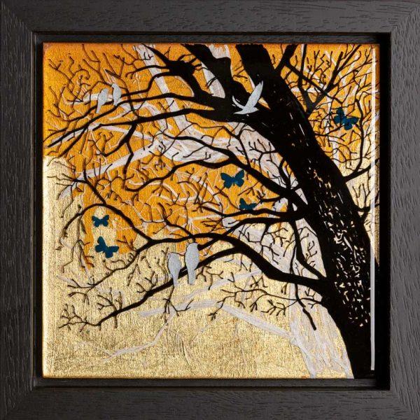 Birds Golden Art
