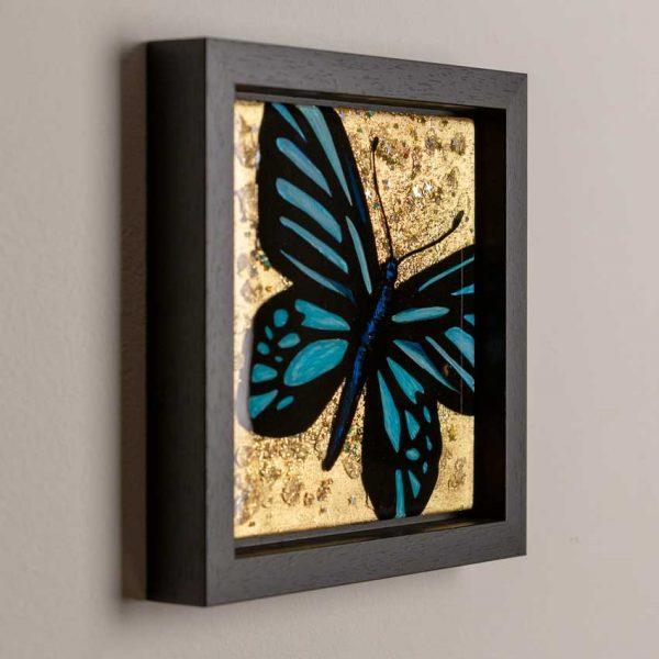 Butterfly art - epoxy