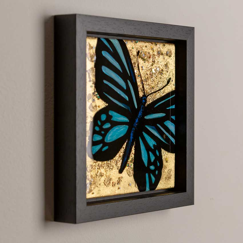 Butterfly art - epoxy