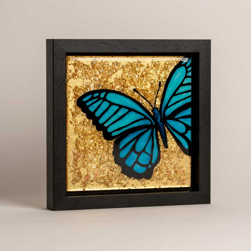 Butterfly Epoxy Resin Art