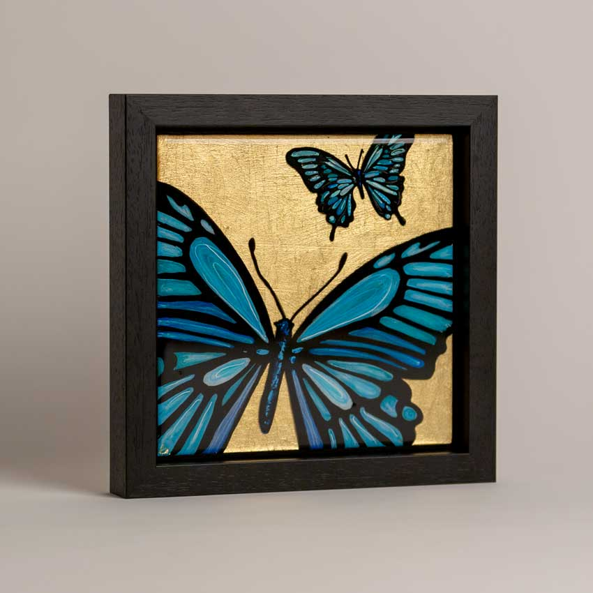 Resin art - butterfly