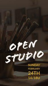 Open Studio Kunstenaar Antwerpen
