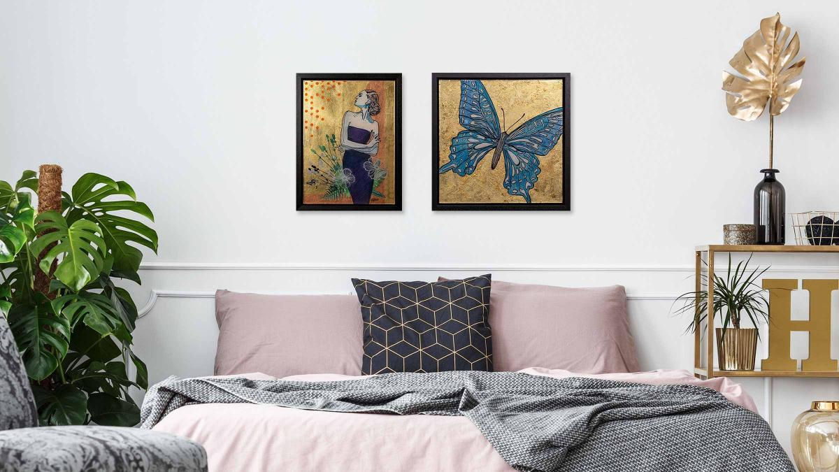 Figurative Pop Art by Kathleen Steegmans - bedroom