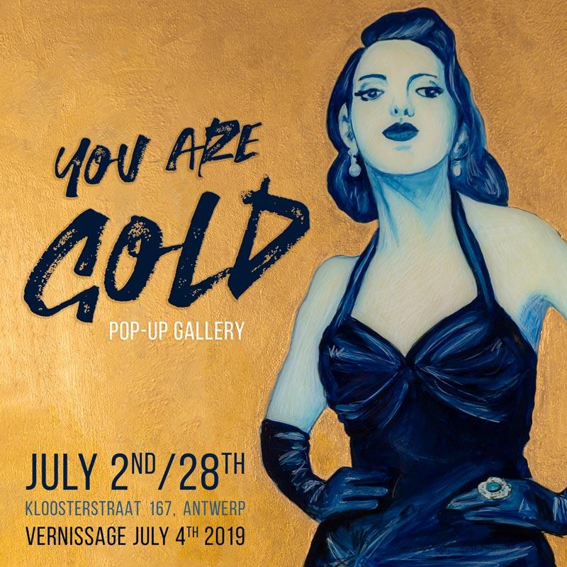 Pop Up Gallery Summer Antwerp