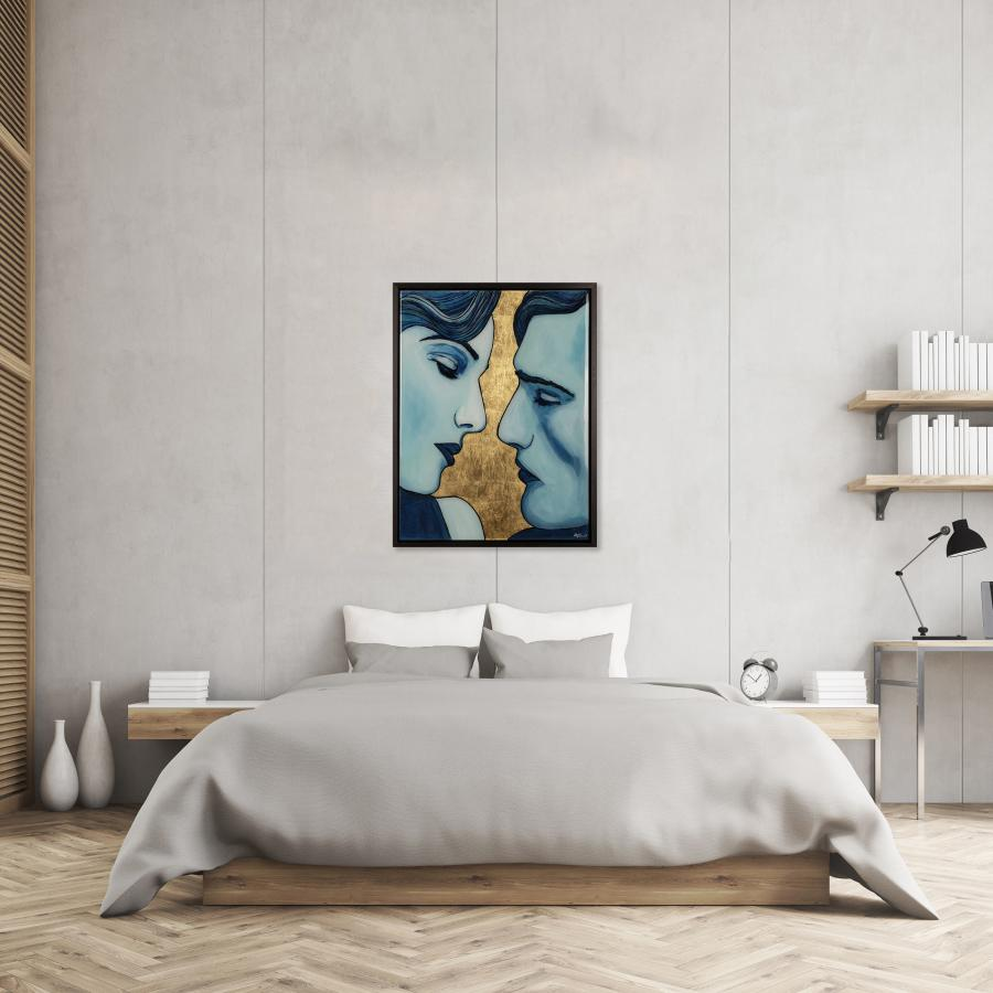 Figurative art in the bedroom