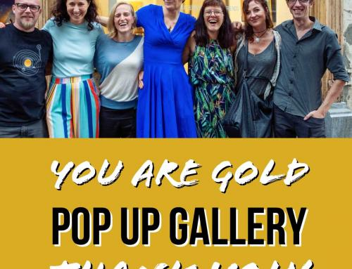 Looking back at the You Are Gold Pop-Up Gallery